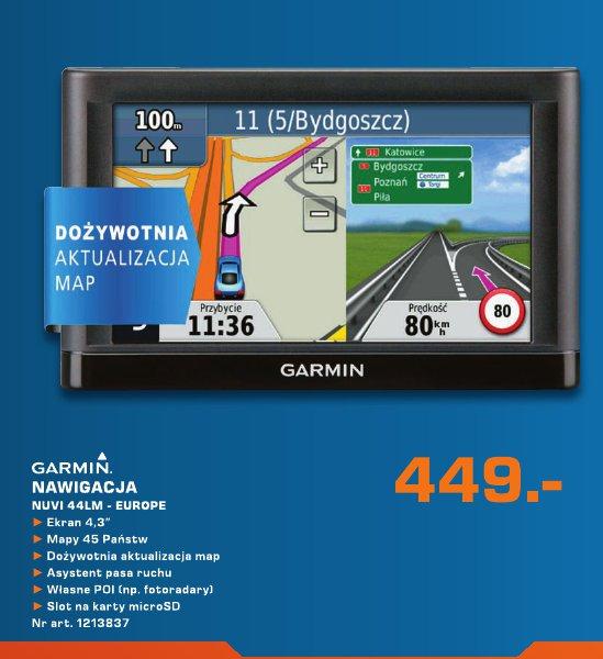 Garmin Nawigacja NUVI 44LM -Europe