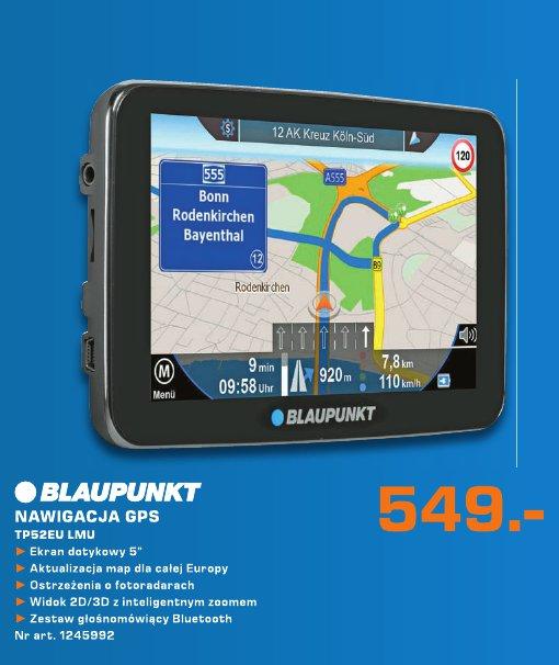 Blaupunkt Nawigacja GPS TP52EU LMU