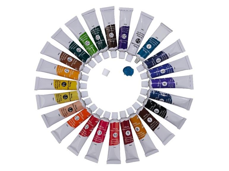 Farby lub kredki pastelowe