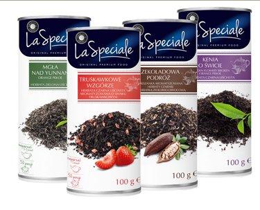 Herbata liściasta w puszce La Speciale