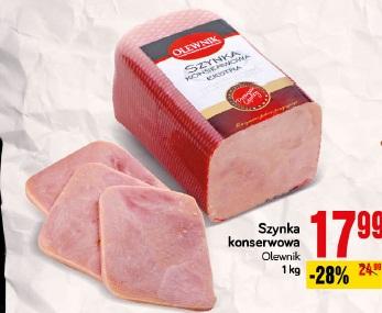 Szynka konserwowa Olewnik