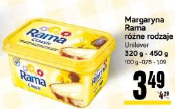 Margaryna Rama różne rodzaje Unilever