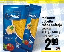 Makaron Lubella różne rodzaje Lubella