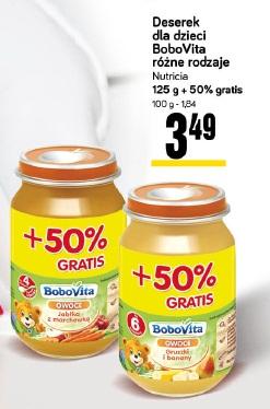 Deserek dla dzieci BoboVita różne rodzaje  Nutricia