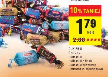 CUKIERKI ŚNIEŻKA • Michałki • Michałki z Hanki • Michałki chałwowe • mieszanka czekoladowa
