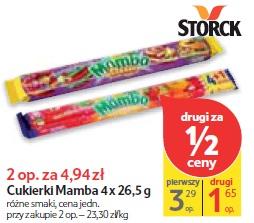 Cukierki Mamba 4 x 26,5 g