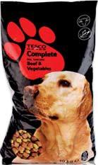 Karma dla psa Tesco 10 kg