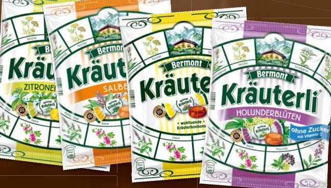 Cukierki ziołowe Kräuterli