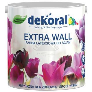 Farba lateksowa do ścian i sufitów EXTRA WALL DEKORAL