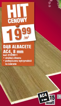 Dąb Albacete AC4, 8 mm