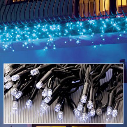 Kurtyna zewnętrzna Flesz LED