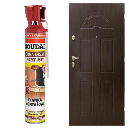 Drzwi wejściowe Montreal