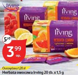 Herbata owocowa Irving 20 tb.x 1,5 g