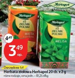 Herbata ziołowa Herbapol 20 tb.x 2 g