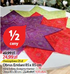 Obrus Eridani 85 x 85 cm