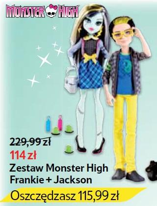 Zestaw Monster High Frankie + Jackson