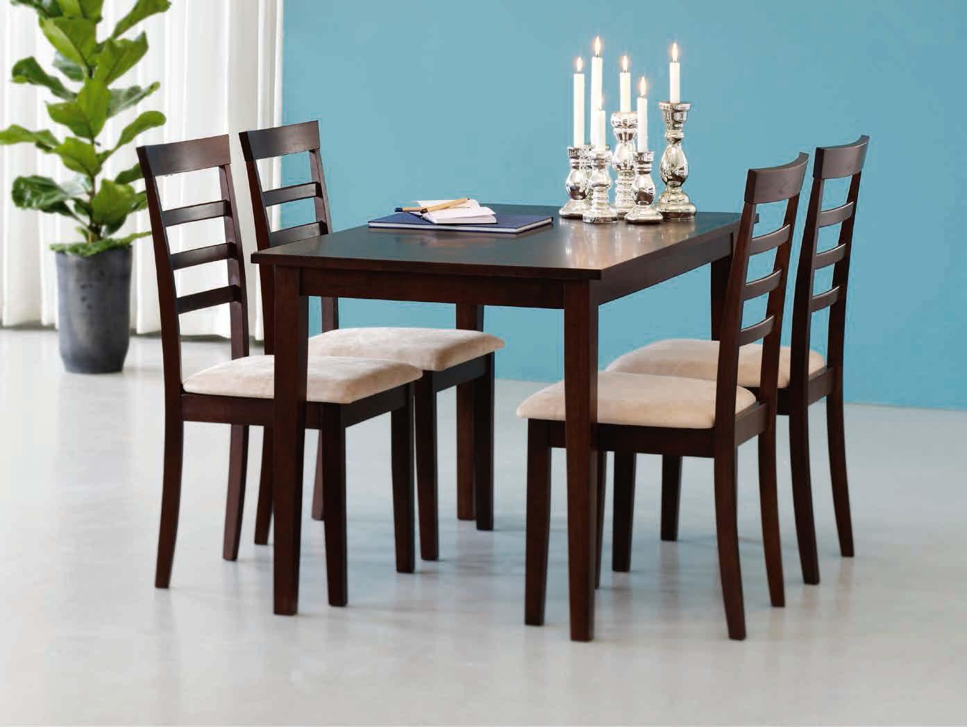 Stół Bjert + 4 krzesła Bjert
