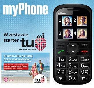 Telefon myPhone 1075+ starter tu biedronka