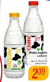 Mleko świeże Łaciate