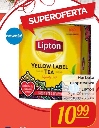 Herbata ekspresowa Lipton