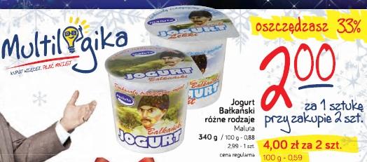 Jogurt Bałkański różne rodzaje Maluta