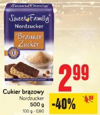 Cukier brązowy Nordzucker
