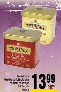 Twinings Herbata Liściasta różne rodzaje AB Foods