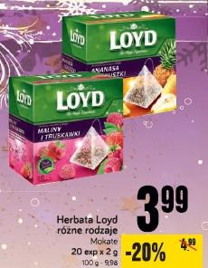 Herbata Loyd różne rodzaje Mokate
