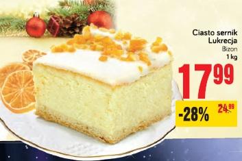 Ciasto sernik Lukrecja Bizon