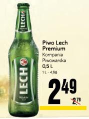 Piwo Lech Premium Kompania Piwowarska