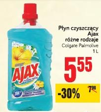 Płyn czyszczący Ajax różne rodzaje Colgate Palmolive