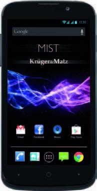 Kruger&Matz SMARTFON KM0405 MIST