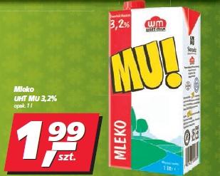 Mleko UHT MU 3,2%