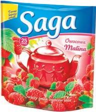 Herbata ekspresowa owocowa Saga