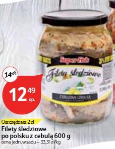 Filety śledziowe po polsku z cebulą 600 g