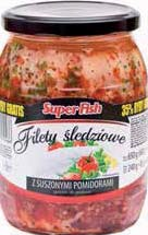 Filety śledziowe po polsku z pomidorami 600 g