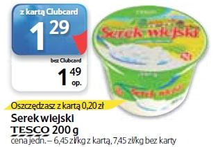 Serek wiejski Tesco 200 g