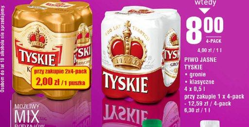 Piwo Jasne Tyskie