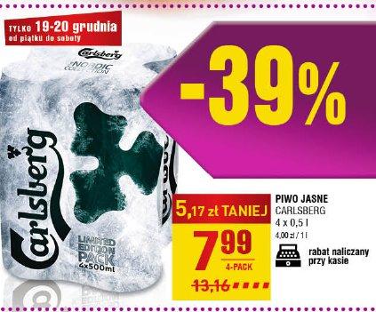 Piwo Jasne Carlsberg