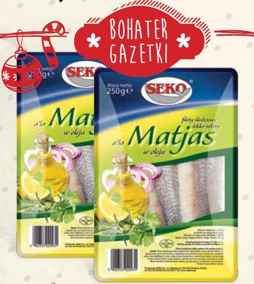 Filety śledziowe a'la Matjas Seko