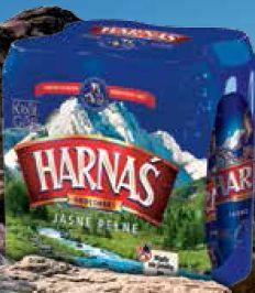 Piwo Harnaś 4-pak lub puszka 4 szt