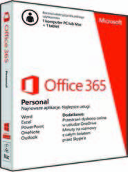 Microsoft PAKIET OFFICE 365 PERSONAL