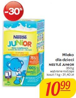Mleko dla dzieci Nestle Junior