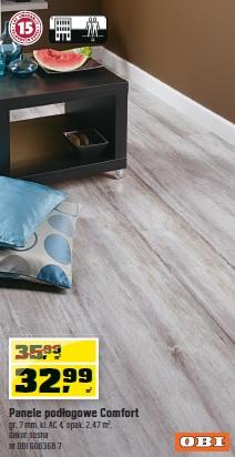 Panele podłogowe Comfort