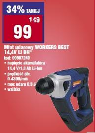 Młot udarowy WORKERS BEST 14,4V LI BH