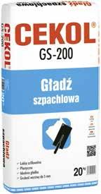 Gładź szpachlowa CEKOL GS-200