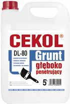 Grunt głęboko penetrujący CEKOL DL-80