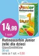 Rutinoscorbin Junior żelki dla dzieci GlaxoSmithKline