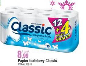 Papier toaletowy Classic Velvet Care