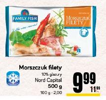 Morszczuk filety Nord Capital